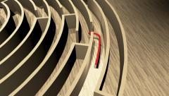 The Eureka maze. Stock Footage
