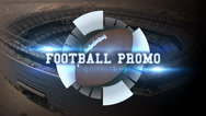 Stock After Effects of Football Promo