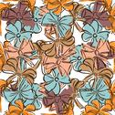 Stock Illustration of elegant seamless pattern with decorative bows, design element