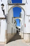 Osuna street, Andalusia, Spain - stock photo