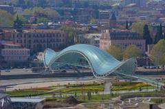 Old Tbilisi architecture - stock photo