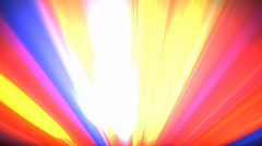 Footlights Colorful bright abstract background loop 2 - stock footage