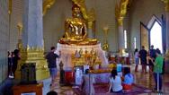 Golden Buddha - Bangkok Stock Footage