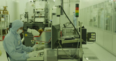 Scientific Engineering 04 4K Stock Footage
