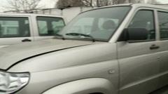 Cars UAZ Patriot - stock footage