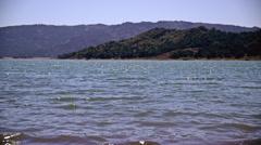 Tranquil Lake 4K Stock Footage