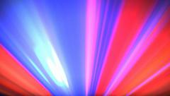 Footlights Colorful bright abstract background loop 4 - stock footage