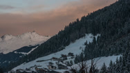 Stock Video Footage of Tirol village of See sunset HD