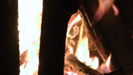 Stock Video Footage of Campfire, Fire, Bonfire