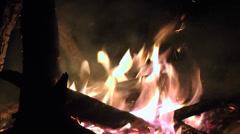 Fire, Flames, Blazes, Heat - stock footage