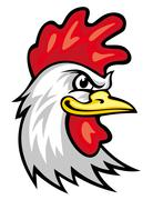 Rooster mascot Stock Illustration
