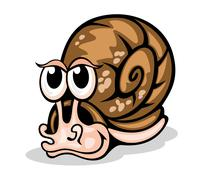 Stock Illustration of funny snail