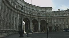 Admiralty Arch, Trafalgar Square Stock Footage