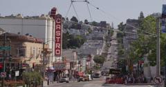 Castro district San Francisco - stock footage