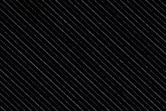 Black material with lines, a background or texture Stock Photos