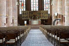 marktkirche lutheran church - stock photo