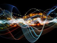 Stock Illustration of Elegance of Dynamic Network
