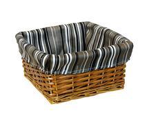 Rattan basket Stock Photos