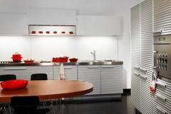 kitchen appliances - stock photo