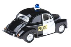 toy police car - stock photo