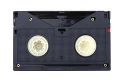 video cassette macro - stock photo