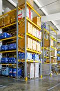 Chemical storehouse Stock Photos