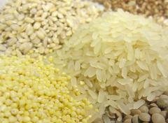 Cereals closeup Stock Photos