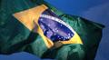Real Brazil flag 2 HD Footage