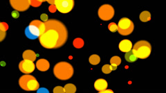 Decorative color spots points background shaking,abstract design backdrop. Stock Footage