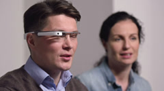 Wearable Computing Stock Footage