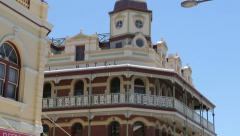 National hotel, fremantle, perth, australia Stock Footage