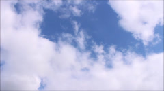 Sky and clouds Timelapse Video Stock Footage