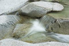 river flow background - stock photo