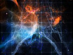Numeric Cosmos Stock Illustration