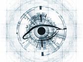 Sight of technology Stock Illustration