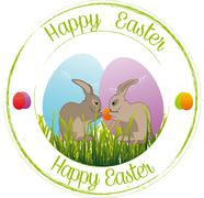 Stock Illustration of Happy Easter