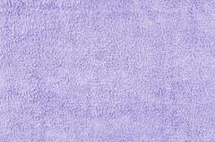 violet towel texture - stock photo