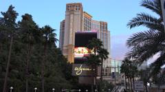 4K UHD ULTRA HD Wynn Hotel Las Vegas - Kulltech Stock Footage