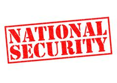 National Security Stock Illustration