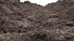Artificial fertilizer Stock Footage