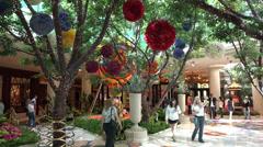 4K UHD ULTRA HD Wynn Garden, Las Vegas - Kulltech Stock Footage