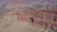 Grand Canyon Arizona America wild west rim red desert landscape usa national day Stock Footage