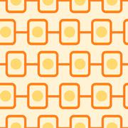 70s pattern - stock illustration
