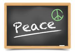 Blackboard peace Piirros