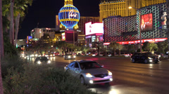 4K UHD ULTRA HD Paris Hotel Las Vegas NV Kulltech Stock Footage