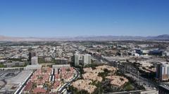 Las Vegas Aerial 4178 Stock Footage