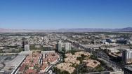 Stock Video Footage of Las Vegas Aerial 4178