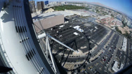 Stock Video Footage of Timelapse View of The High Roller Ferris Wheel 4179