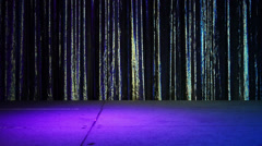Empty Stage with Curtain 4170 - stock footage