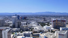 Aerial View of the Las Vegas Strip 4177 Stock Footage